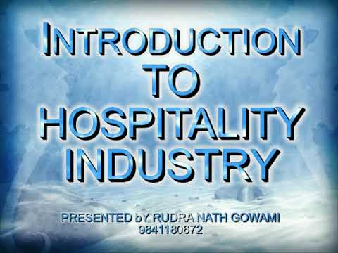 Introduction to Hospitality Industry