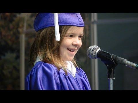 2020 Kindergarten Graduation at Messiah Montessori School