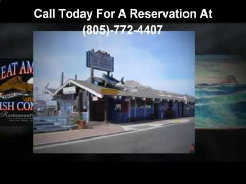 Seafood restaurants Morro Bay 805-772-4407 Fresh Halibut