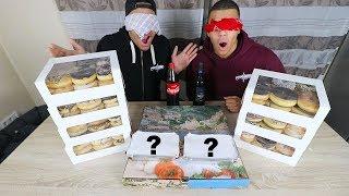 BLIND ESSEN BEIM LIEFERSERVICE BESTELLEN (300€+) | PrankBrosTV