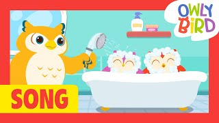 Bath Time Song And Others | Bath Song Compilation |Healthy Habits For Kids| Nursery Rhymes| OwlyBird