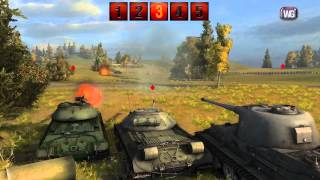 World of Tanks видео обзор и обучение Серия №5