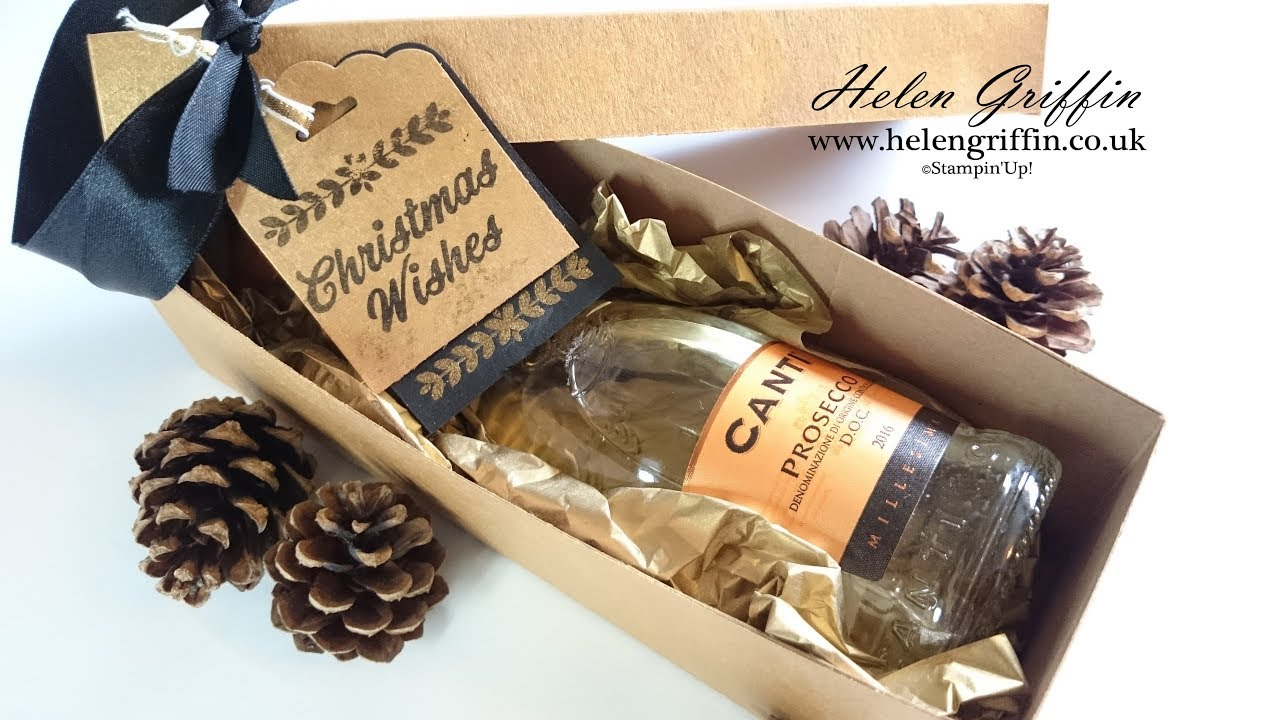 Christmas In July Day 1 Mini Champagne Wine Gift Box