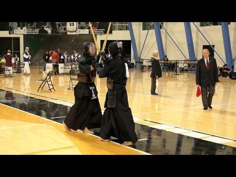 Kendo 2017 Nikkei Games 3 Dan Division: Semi Finals 1