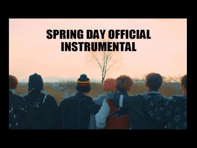 OFFICIAL INSTRUMENTAL] BTS (방탄소년단) -