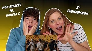 Gambar cover MOM REACTS TO MONSTA X X-PHENOMENON FOR THE FIRST TIME!! (MONSTA X - X PHENOMENON) (MUSIC VIDEO)