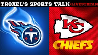 AFC TITLE GAME: Tennessee Titans VS Kansas City Chiefs Game Audio/Scoreboard Only