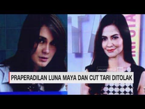 Praperadilan Luna Maya & Cut Tari Ditolak PN Jakarta Selatan