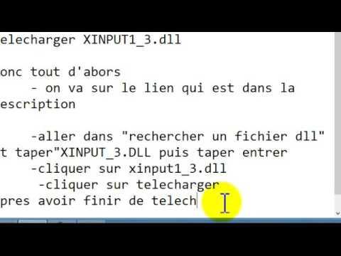 2016 PES TÉLÉCHARGER XINPUT1 3.DLL POUR