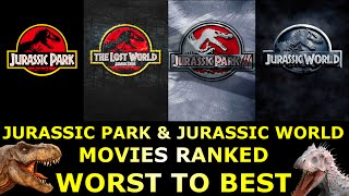 connectYoutube - 4 Jurassic Park & Jurassic World Movies Ranked Worst to Best
