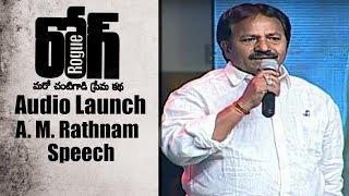 A. M. Rathnam Speech at Rogue Audio Launch