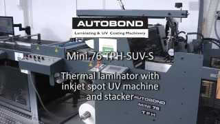 Autobond Mini 76 TPH-SUV-S on test for customer in Saudi Arabia