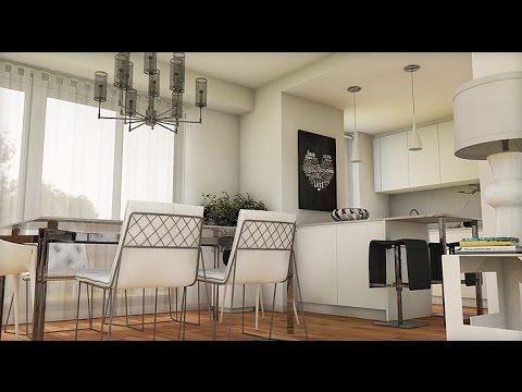 Dise o interior la casa de mis sue os apartamento 105 m2 - La casa de luminosa ...