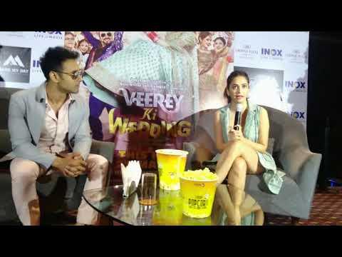 Veerey ki wedding star cast interview Mp3