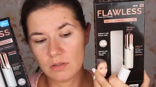 REAL VS FAKE Finishing Touch Flawless - facial hair remover