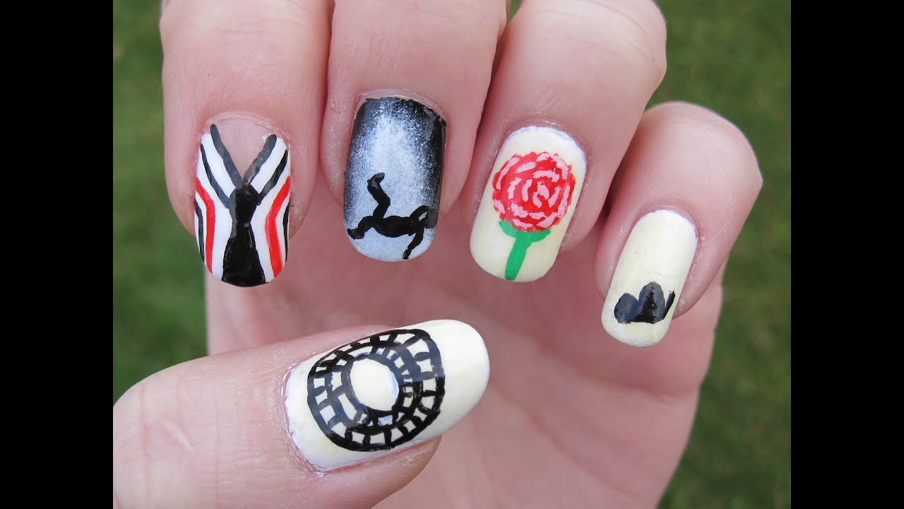 Kpop Bts Just One Day Nail Art Maniswap With Adream You