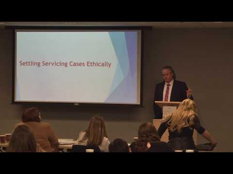 Foreclosure training: Settling servicing cases ethically