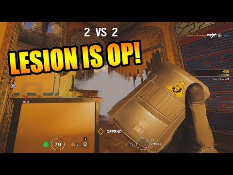 Lesion is TOO GOOD! - Rainbow Six Siege