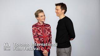 Carey Mulligan and Paul Dano discuss 'Wildlife' | TIFF 2018