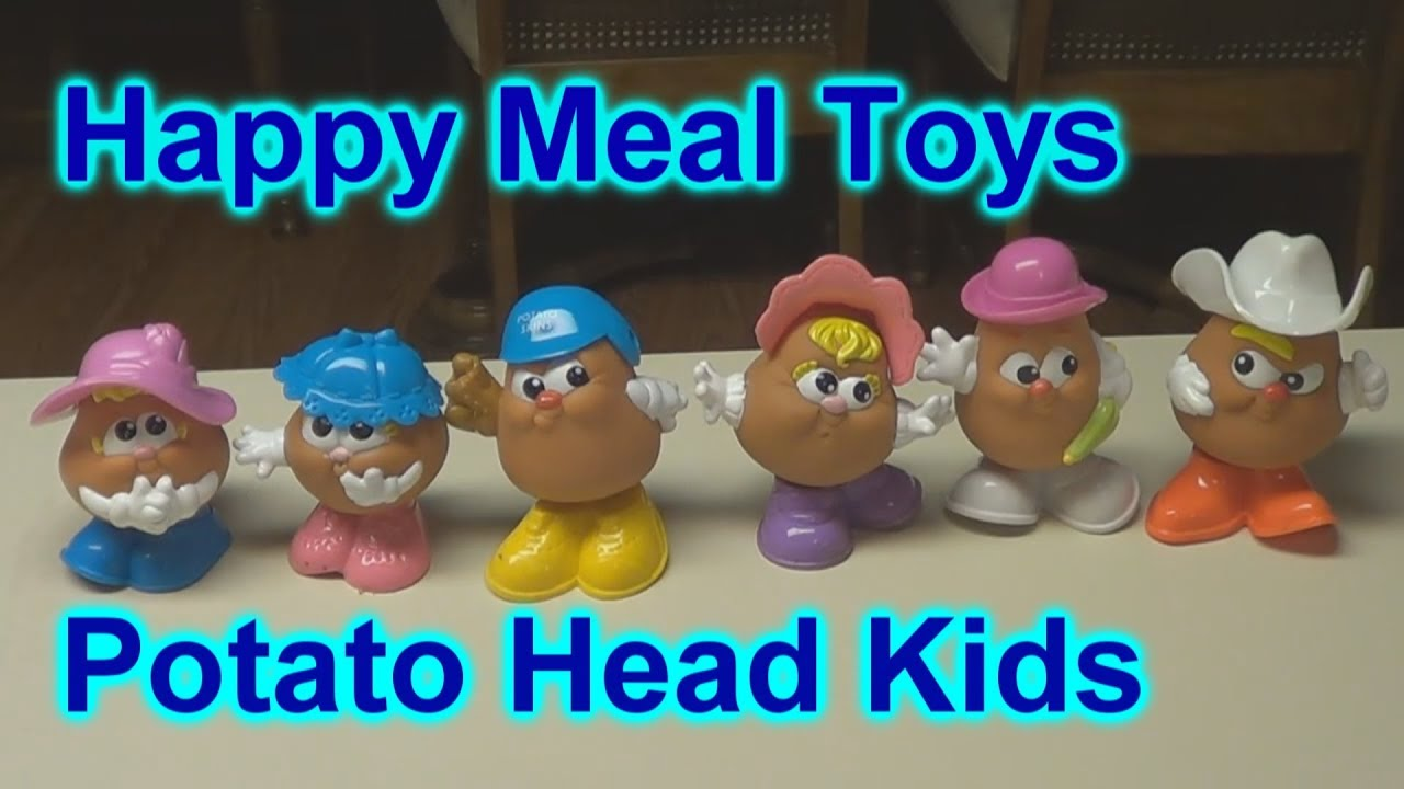 Image result for happy meal potato head kids