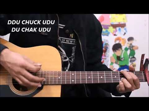O Saathi - Baaghi 2 - Easy Hindi Guitar Cover Lesson chords Simple