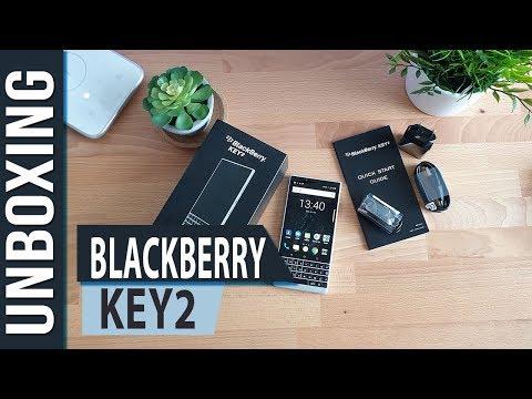 BlackBerry Key2 - Unboxing