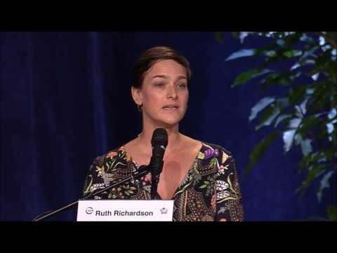 Ruth Richardson #IUCNCongress 2016 Keynote & Panel on Agriculture for Conservation