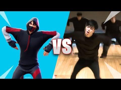 Fortnite Scenario Emote In Real Life - 100% Synced Fortnite Dances/Emotes VS Real Life