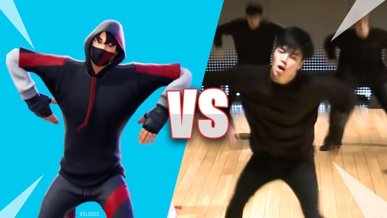 Fortnite Scenario Emote In Real Life 100 Synced Fortnite Dances Emotes Vs Real Life Youtube