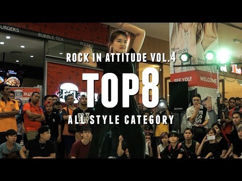 Xiao M vs Asher | All Style Top8 | Rock In Attitude Vol. 4 Malaysia | RPProductions