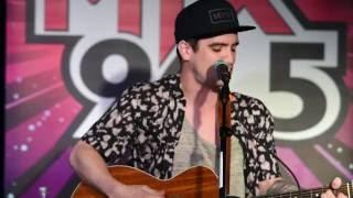 "Dave Mahoney: Mix 96.5 Acoustic ""I Write Sins Not Tragedies"""
