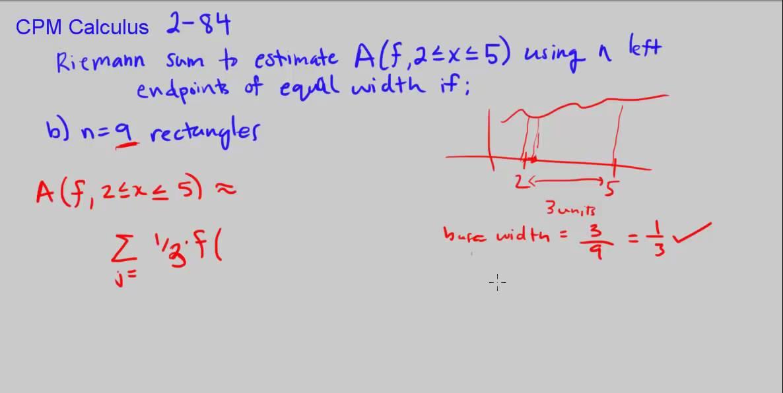 geogebra how to make riemann sum