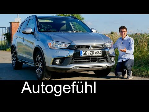 Mitsubishi ASX / Outlander Sport Facelift FULL REVIEW 2017/2018 - Autogefühl