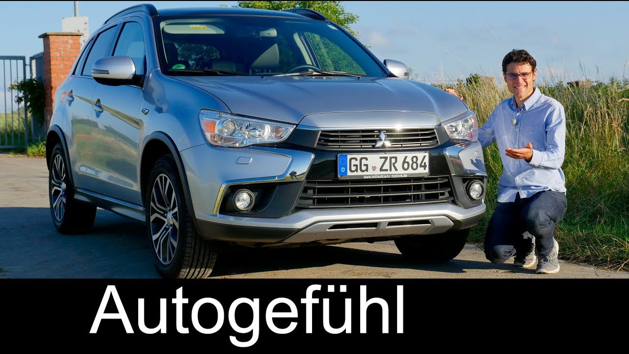 2018 mitsubishi asx review. wonderful review mitsubishi asx  outlander sport facelift full review 20172018  autogefhl in 2018 mitsubishi asx review