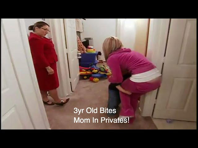 3yr Old Bites Mom In ' Her Private Parts' | Supernanny