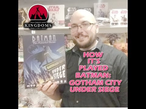 How It's Played - Batman The Animated Series Gotham City Under Siege