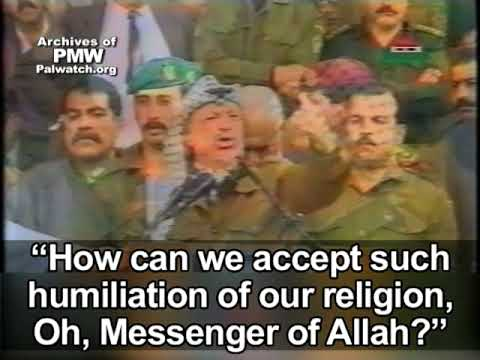Arafat compared Oslo Accords to Muhammad's temporary agreement