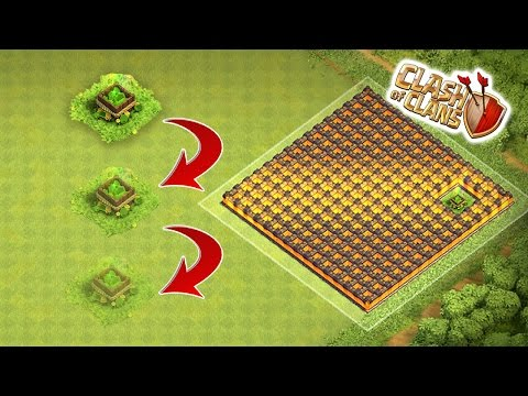 Clash of Clans - Invisible Gem Box Glitch (How To Make It Invisible Tutorial)
