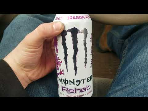 Monster Rehab White Dragon Tea Energy Drink Review
