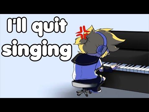 【Kagamine Len V4X English】I'll Quit Singing! / 辞めてやるよ歌い手なんか! 【鏡音レン】
