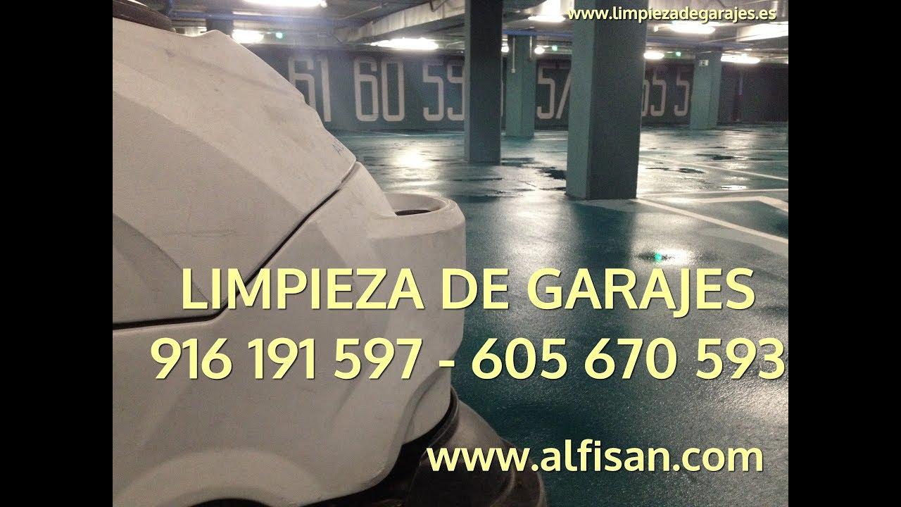 Limpieza garajes madrid 916 191 597 limpieza de garajes for Limpieza de jardines madrid