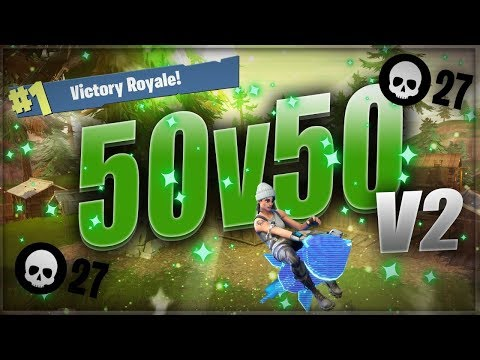 THE MOST INSANE 50v50 27 KILL GAME! 16 kills in 2 MINUTES! 9 Minute game!!