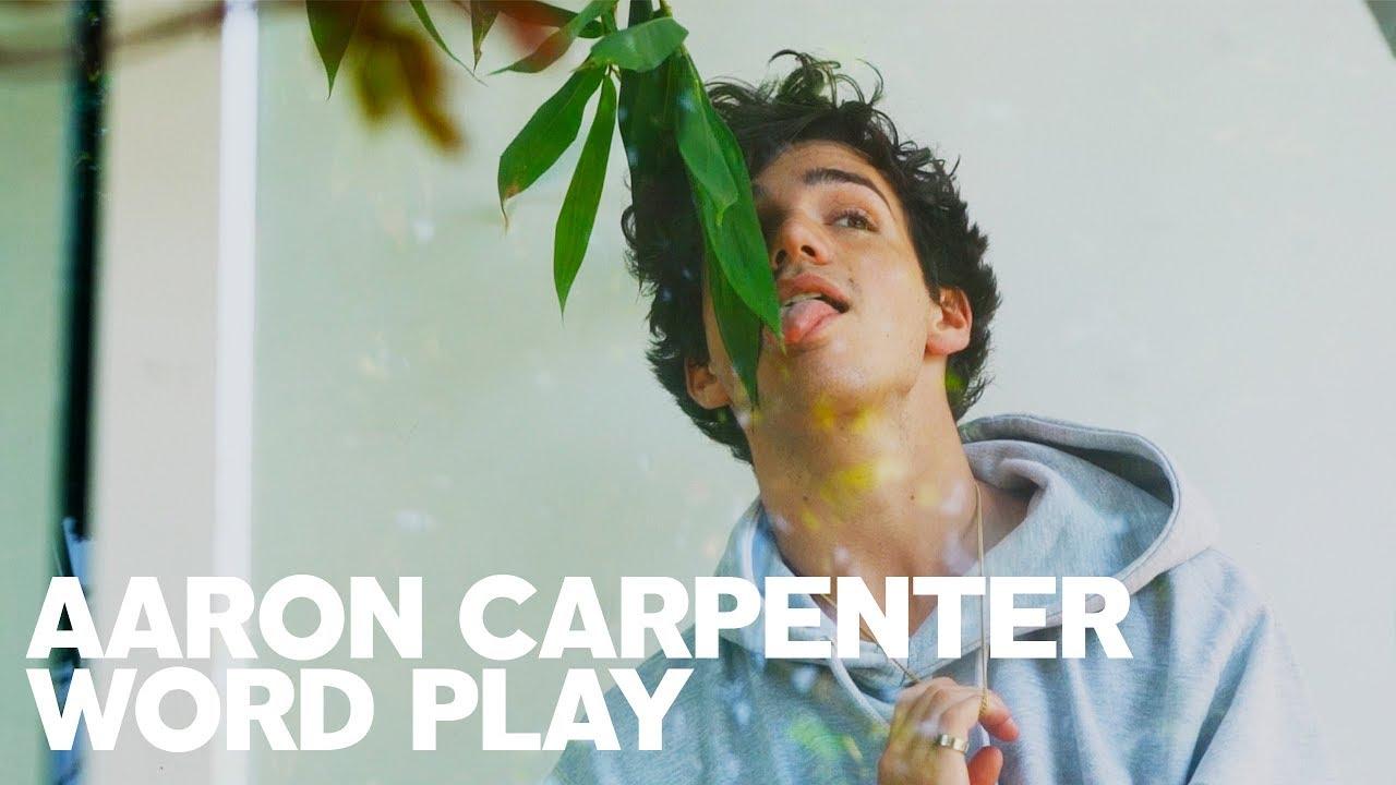 Aaron Carpenter Plays RAW's Word Play