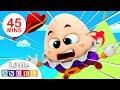 Humpty Dumpty Sat on a Wall, Peekaboo Finger Family, Itsy Bitsy| Nursery Rhymes by Little Angel