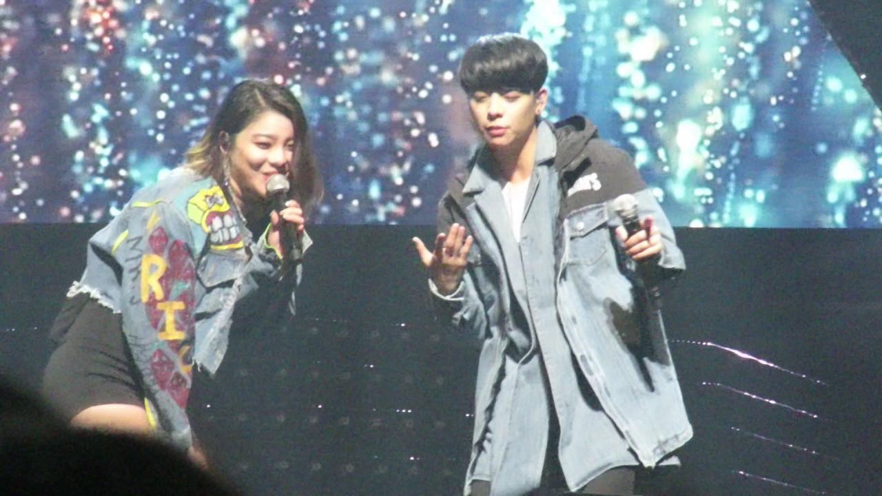 161224 에일리 콘서트 Ailee Concert [Welcome Home] - Letting go ...