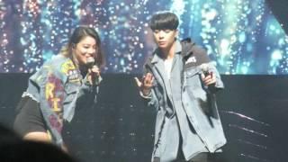 161224 에일리 콘서트 Ailee Concert  [Welcome Home] - Letting go (Feat. Amber)