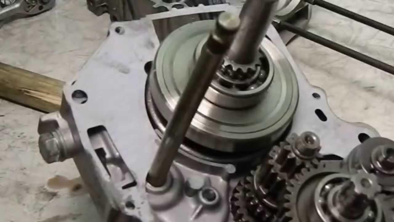 Ремонт мотора питбайка 7