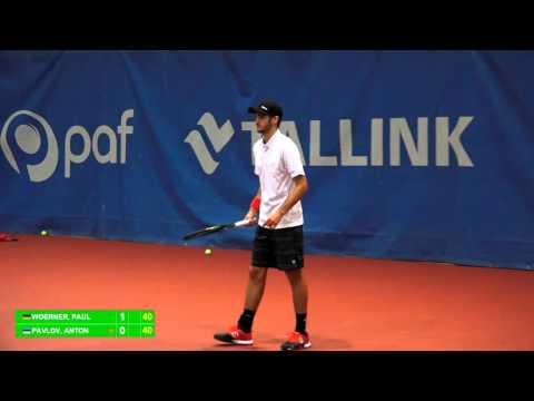 Paf Open Pärnu 2015 - Paul Woerner vs Anton Pavlov
