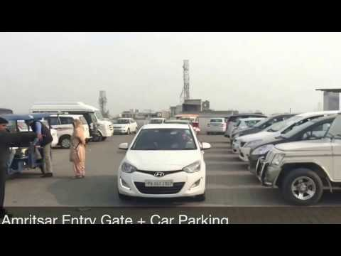 Amritsar Entry Gate + Car Parking