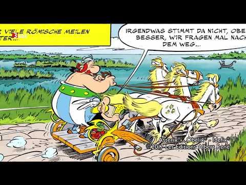 Europa wartet auf den 37. Asterix & Obelix-Comic - Comiczeichner Bastian Vivès im Kurzinterview